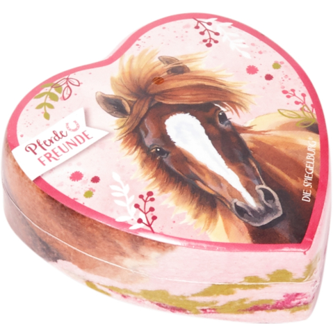 Liten Magisk Handduk rosa Horse Friends Spiegelburg