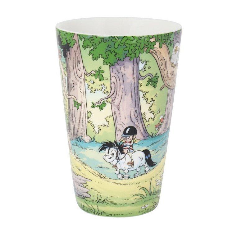 Lattemugg Mulle i skogen