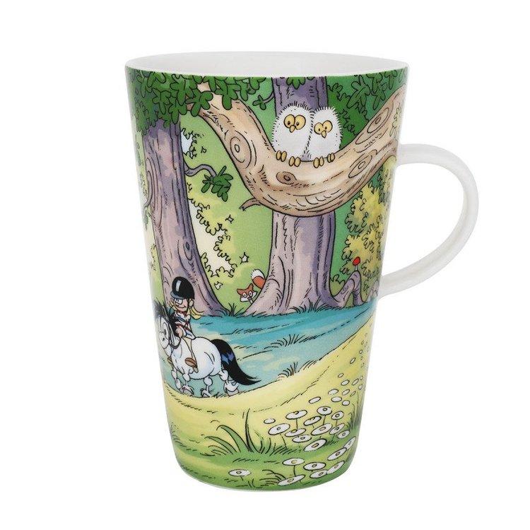Lattemugg Mulle i skogen Lena Furberg Världens bästa Mulle
