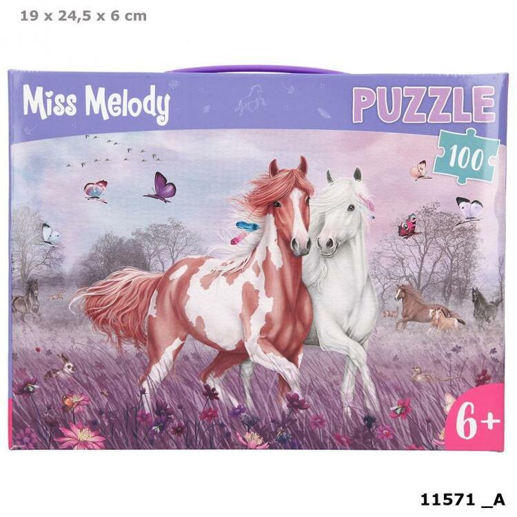 Miss Melody Pussel 100 bitar
