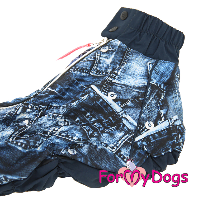 "Regnoverall ""Blue Jean"" Hane ""For My Dogs"""