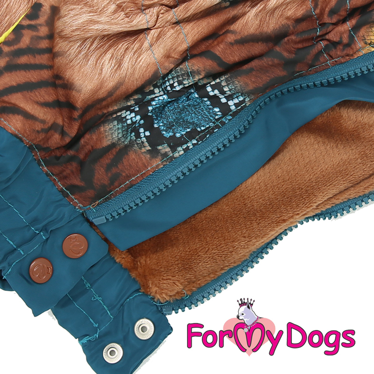 """Vinteroverall """"Blue Wild"""" Hane """"For My Dogs"""""""