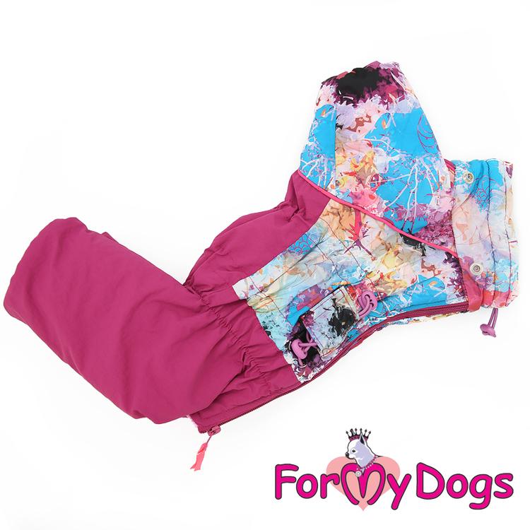 "Varm Vinteroverall ""Pink Pattern"" Tik ""For My Dogs"""