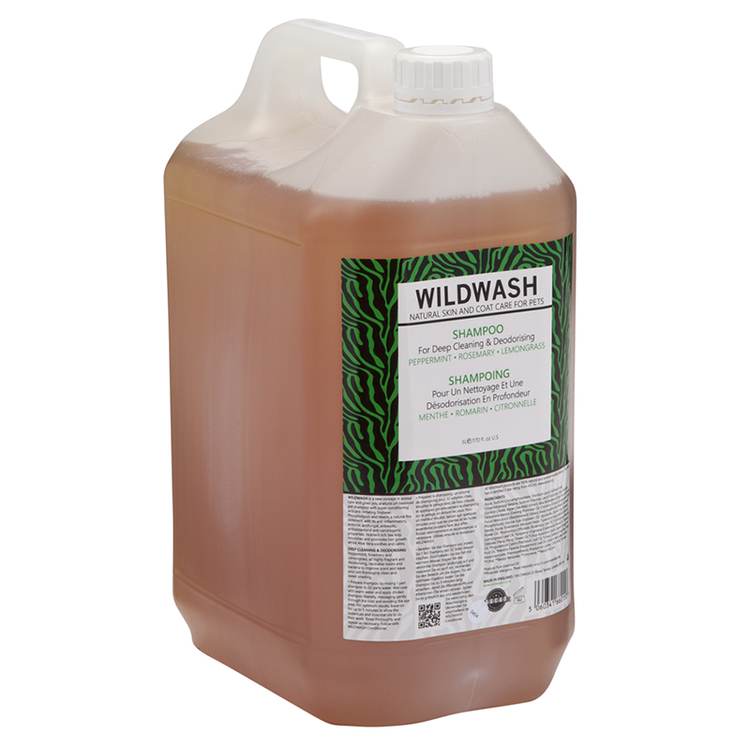 WILDWASH PRO Schampoo for Deep Cleaning and deodorising - Djuprengörande 5L