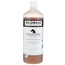 WILDWASH HORSE Ultra Shine Schampoo - Glansschampoo 1L