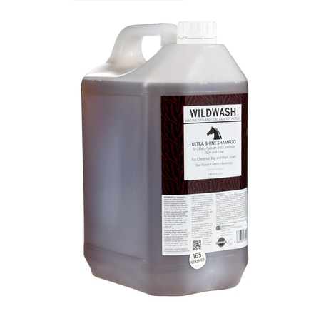 WILDWASH HORSE Ultra Shine Schampoo - Glansschampoo 5L
