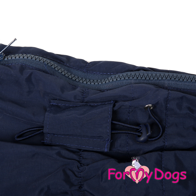 """Regnoverall """"Dark Blue"""" Hane """"For My Dogs"""""""