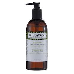 WILDWASH PRO Schampoo for light coloured coats - för ljusa pälsar 300ml