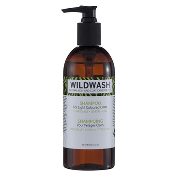 WILDWASH PRO Schampoo for light coloured coats - för ljusa pälsar 300ml