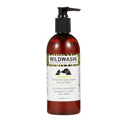 WILDWASH PRO Sensitive Schampoo -  för känslig hud/päls, valpar, kattungar och katter