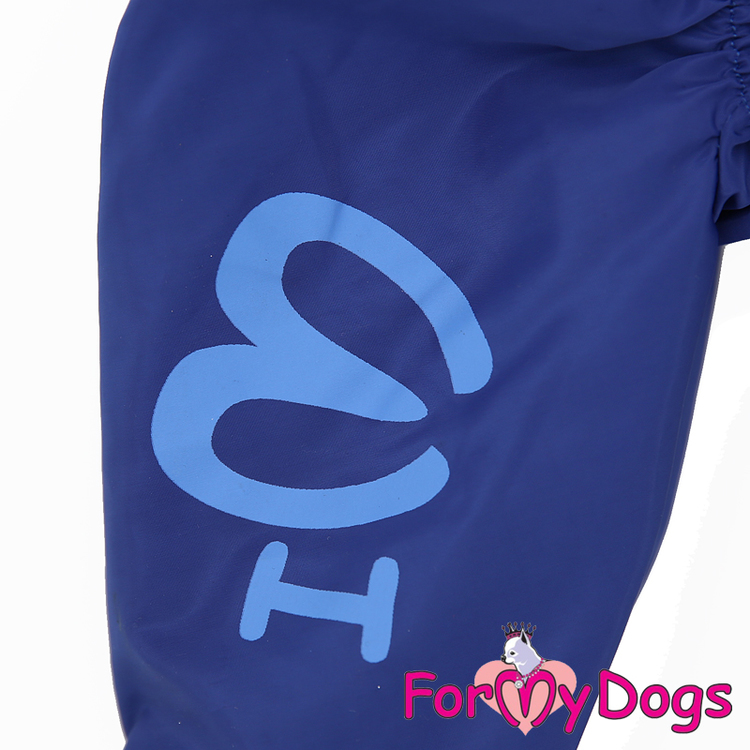 """Regnoverall """"Blue"""" Hane """"For My Dogs"""""""