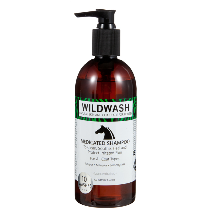 WILDWASH HORSE MedicatedSchampoo - Milt schampoo sensitive