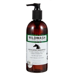WILDWASH HORSE Medicated Schampoo - Milt schampoo sensitive 300ml