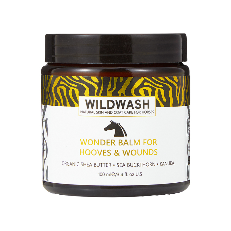 WILDWASH  HORSE Wonder Balm for Hooves and wounds - Hov & sårsalva 100ml