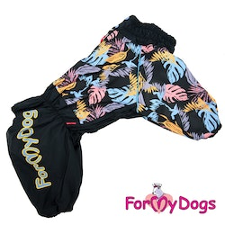 "Vinteroverall ""Black leaves"" Male ""For My Dogs"""