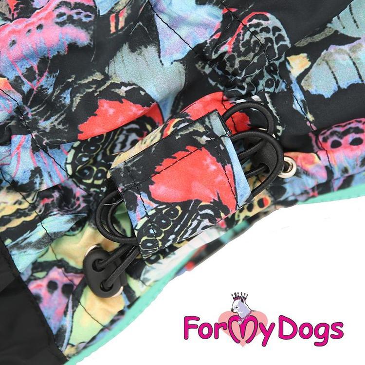 "Vinteroverall ""Green Butterflies Pattern"" Tik ""For My Dogs"""