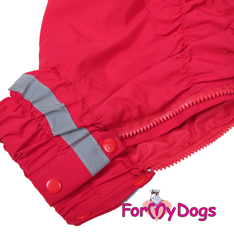 """Regnoverall """"Red"""" Tik """"For My Dogs"""""""