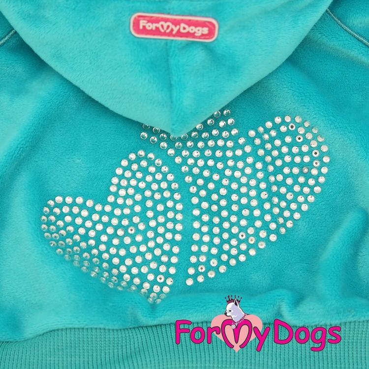 """Mysdress pyjamas overall """"Blå Strass"""" UNISEX """"For My Dogs"""""""