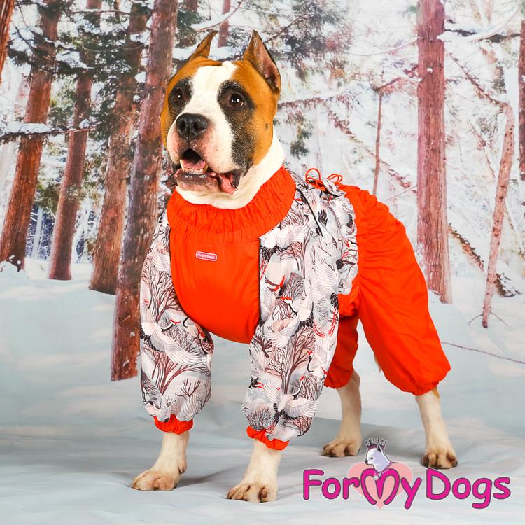 "Varm Vinteroverall ""Röd fågel"" Tik "" For My Dogs"""