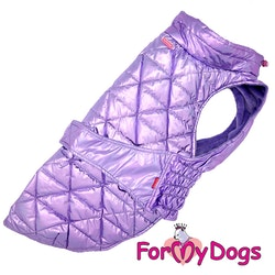 "Täcke Caparison ""Lila Metallic"" Unisex ""For My Dogs"""