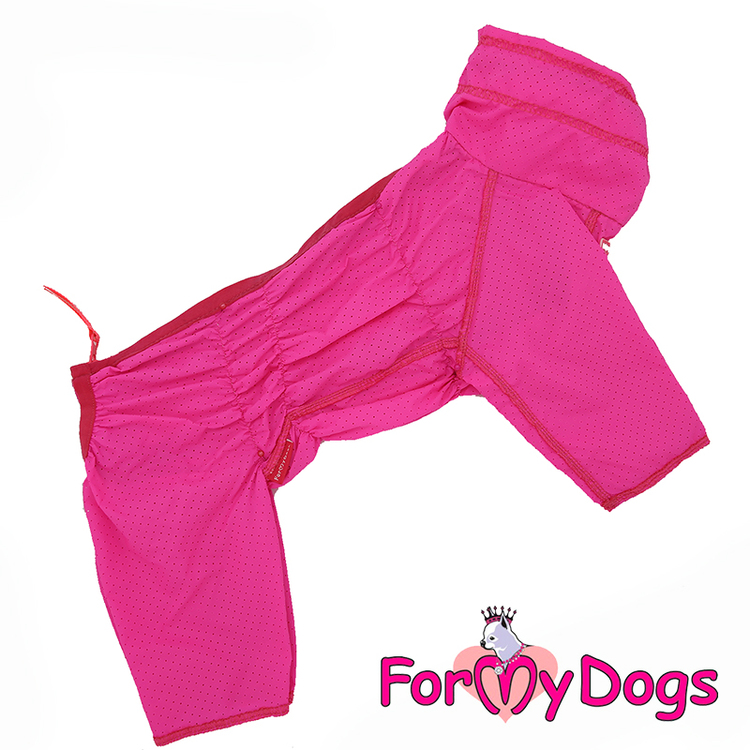 "Duster Tunn Skyddsoverall ""Rosa"" Tik ""For My Dogs"""