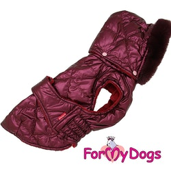 "Täcke Caparison ""Vinröd"" Unisex  ""For My Dogs"""