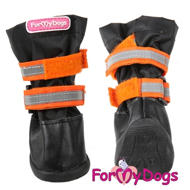 "Regnstövlar ""Orange"" Unisex ""For My Dogs"" Inkommande v5"