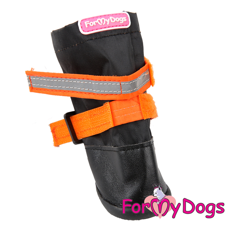 "Regnstövlar ""Orange"" Unisex ""For My Dogs"""