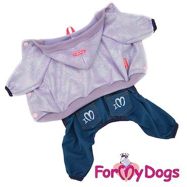 "Suit Mysdress Pyjamas overall ""Glitter"" Unisex ""For My Dogs"""