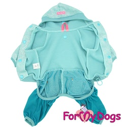 """Suit Mysdress Pyjamas overall """"Flashigt"""" Unisex """"For My Dogs"""""""