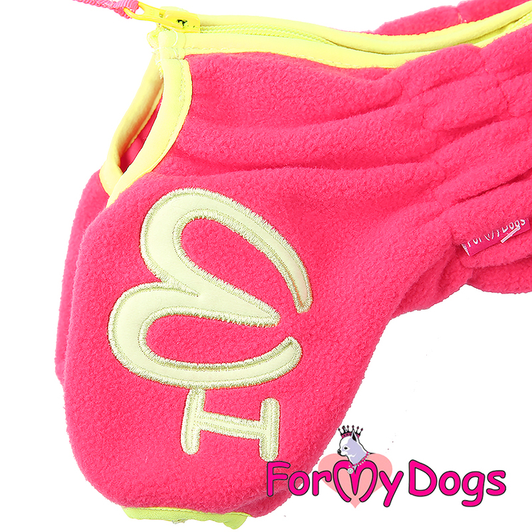 """Suit Fleece Overall """"Rosa"""" Tik """"For My Dogs"""""""