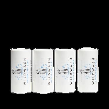 WILDWASH Klädrulle Roller utbytesrullar 4-pack