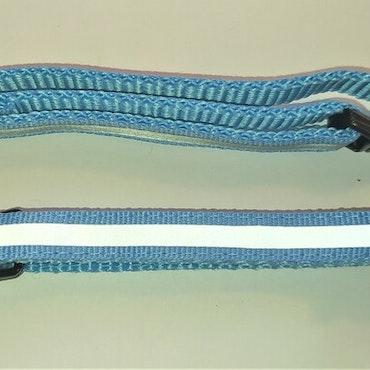 Halsband Valp - Liten ras - Reflex - Ljusblå