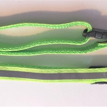 Halsband Valp - Liten ras - Reflex - Neongrön