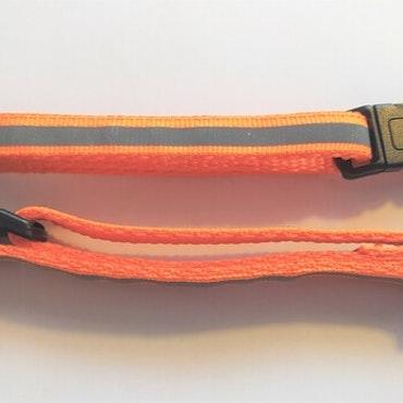 Halsband Valp - Liten ras - Reflex - Orange