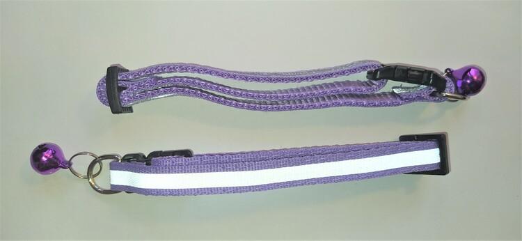 Halsband Valp - Liten ras - Reflex - Lila
