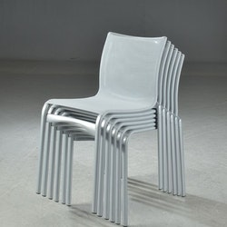 6 x Konferenzstühle, Alias 416 High Frame - Alberto Meda