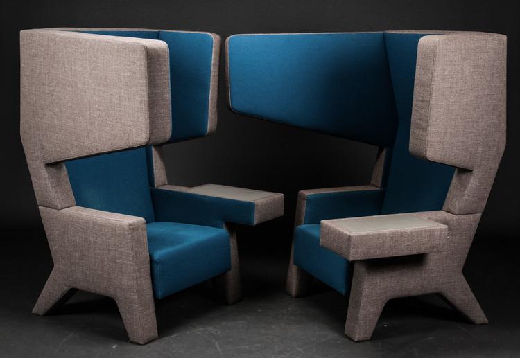 Schalldämmende Lounge Sessel, Prooff 001 Ear Chair