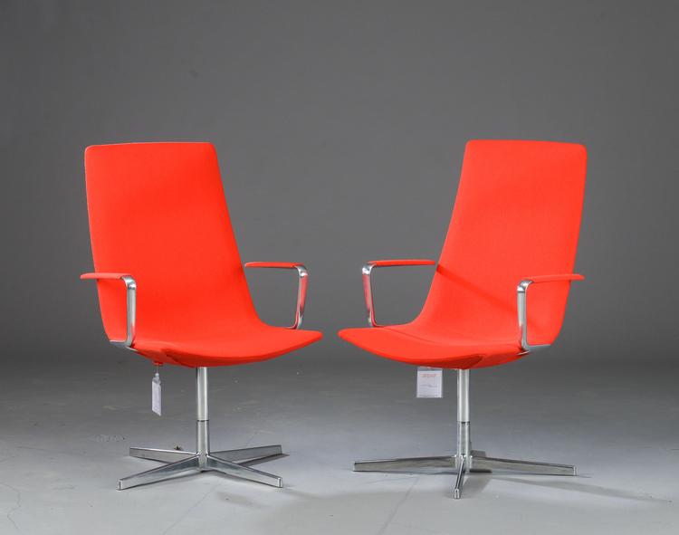 2 x Besucherstühle, Arper Catifa 60 Office - Lievore Altherr Molina