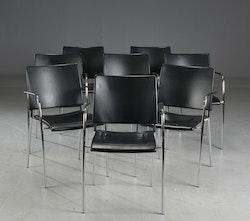 8 x Konferenzstühle, Lammhults Spira - Stapelbar