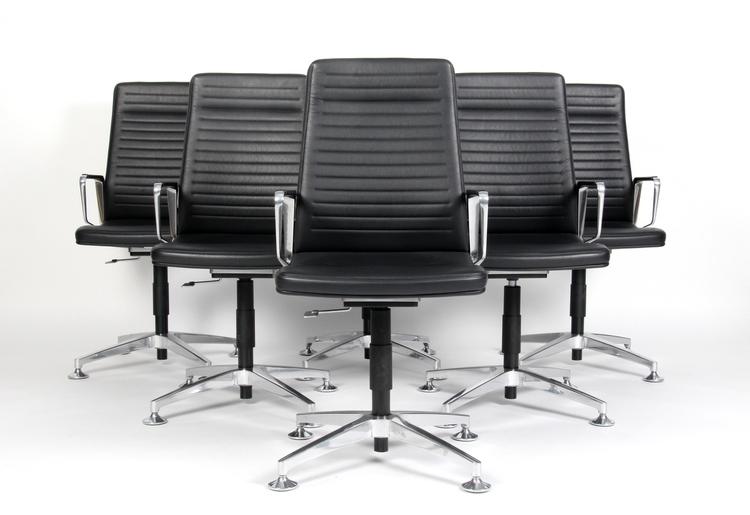 6 x Konferenzstühle / Bürostühle, Interstuhl VINTAGEis5