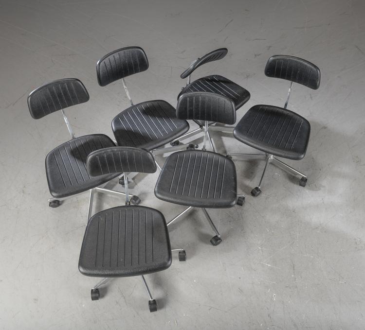 4 x Bürostühle, Engelbrechts Kevi - Jörgen Rasmussen