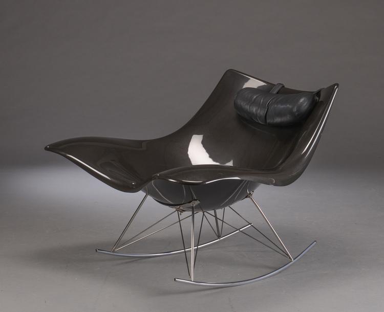 Schaukelstuhl, Fredericia Furniture Stingray - Thomas Pedersen