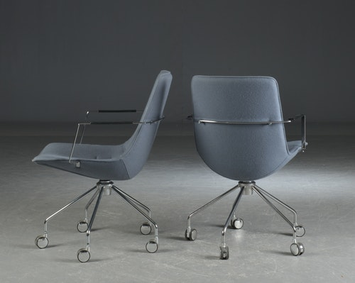 2 x Konferenzstühle, Lammhults Comet - Gunilla Allard