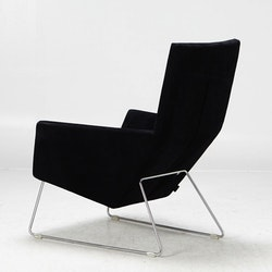 Lounge Sessel mit Ottoman, Label Don - Van den Berg