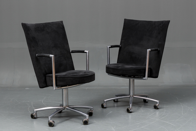 11 x Konferenzstühle, Erik Jörgensen EJ-80 R Partner - Foersom & Hiort-Lorentzen