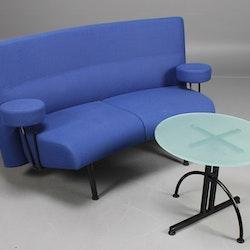 Loungegruppe Lammhults Newport mit Tisch - 3-Sitzer