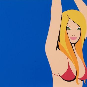Lithographie, Ron Lior Honey Pie - Arder Edition Pop Art