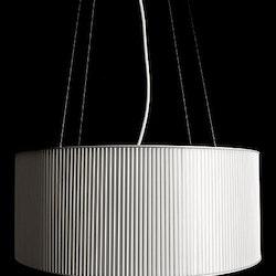 2 x Hängeleuchte, Zero Mimmi Ø50 cm Pelikan-Design
