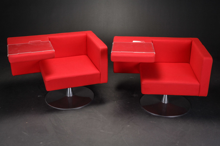 Lounge sessel mit tisch, Offecct Solitaire - Alfredo Häberl